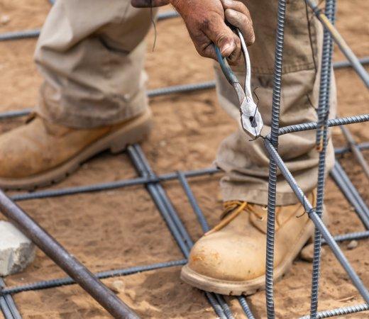betonacél szerelés